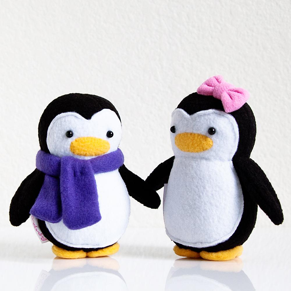 My Dear Darling Mini Penguin Couple