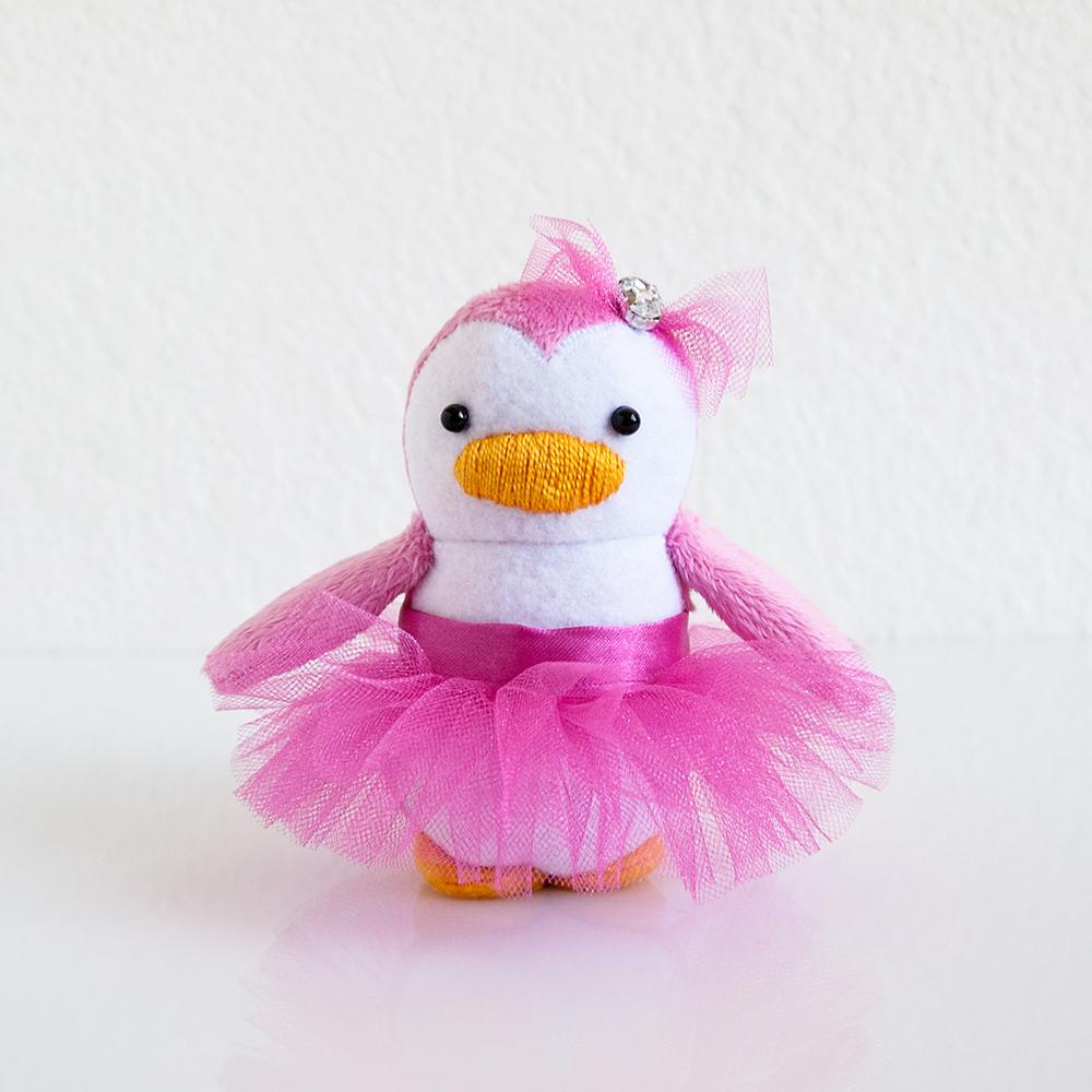 Pretty in Pink Mini Penguin