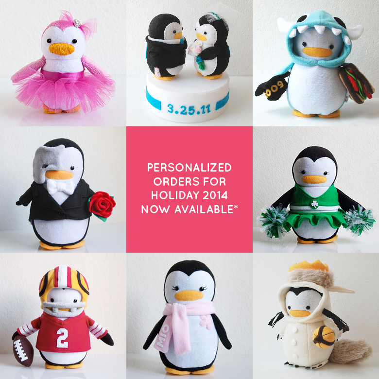My Dear Darling Personalized Penguins
