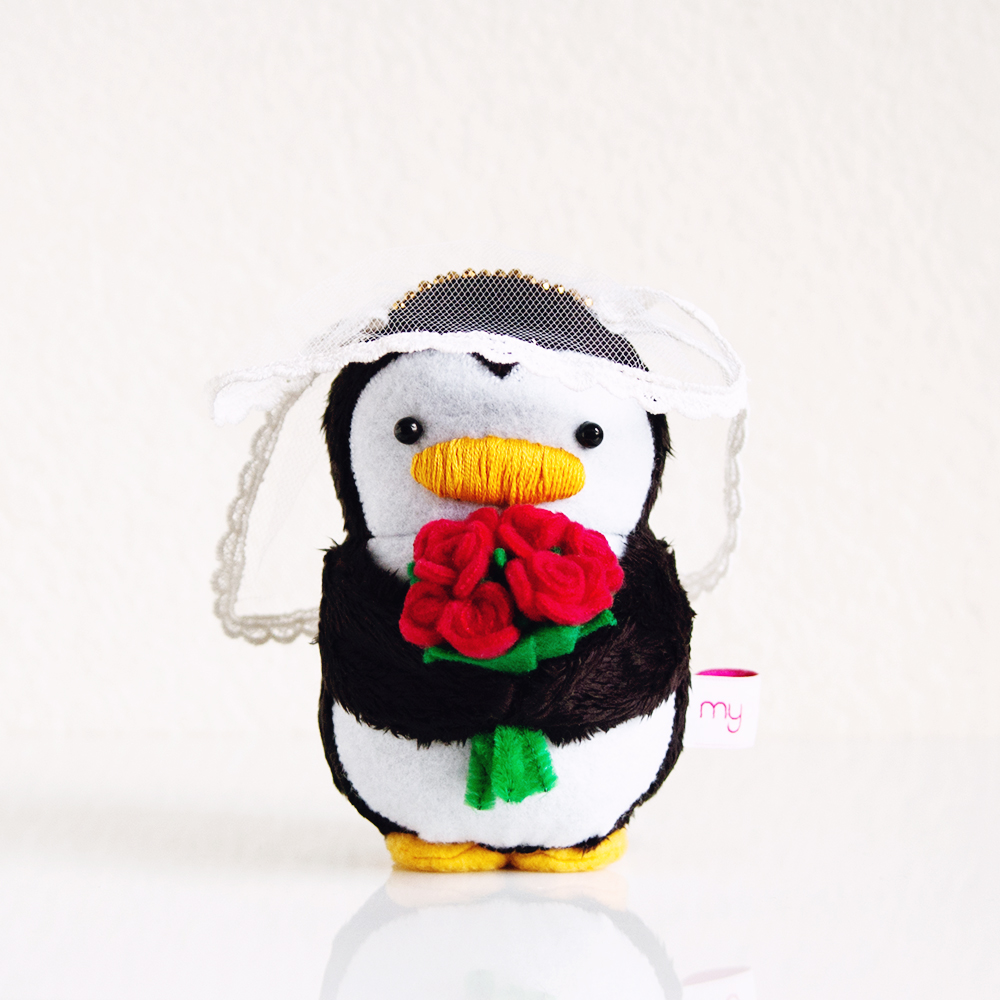 My Dear Darling Bride Penguin