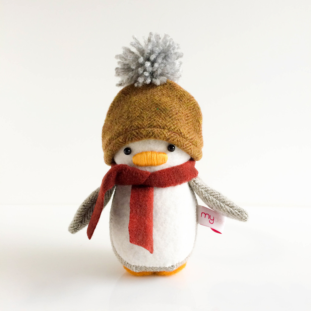 Beanie and Scarf Mini Penguin