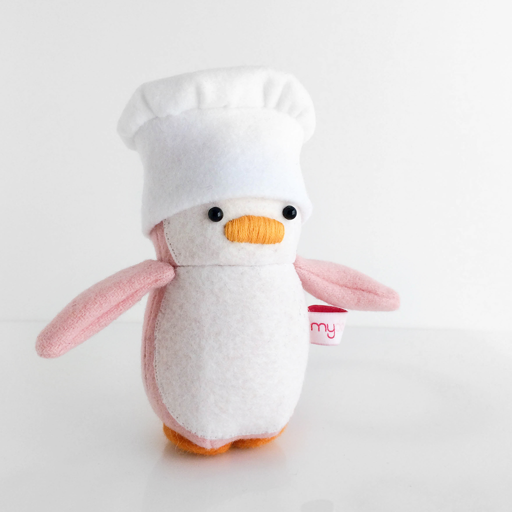 Mini Penguin Chef Hat