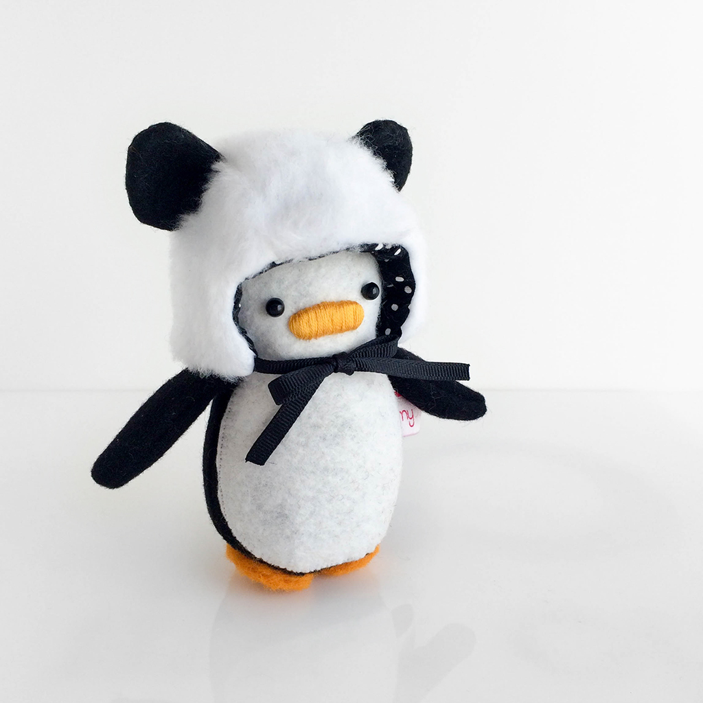 Mini Penguin Panda Hat