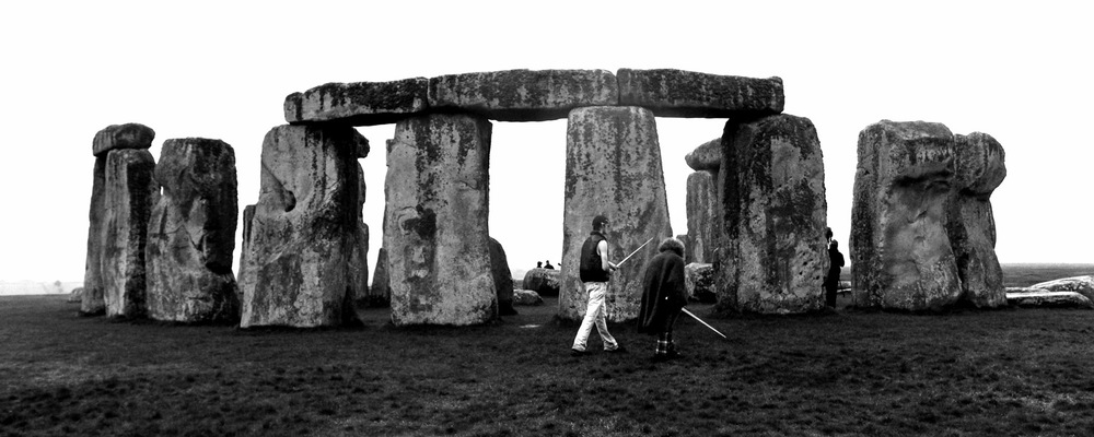 The day The Saints of British Rock rented out Stonehenge for a dawn music video shoot.