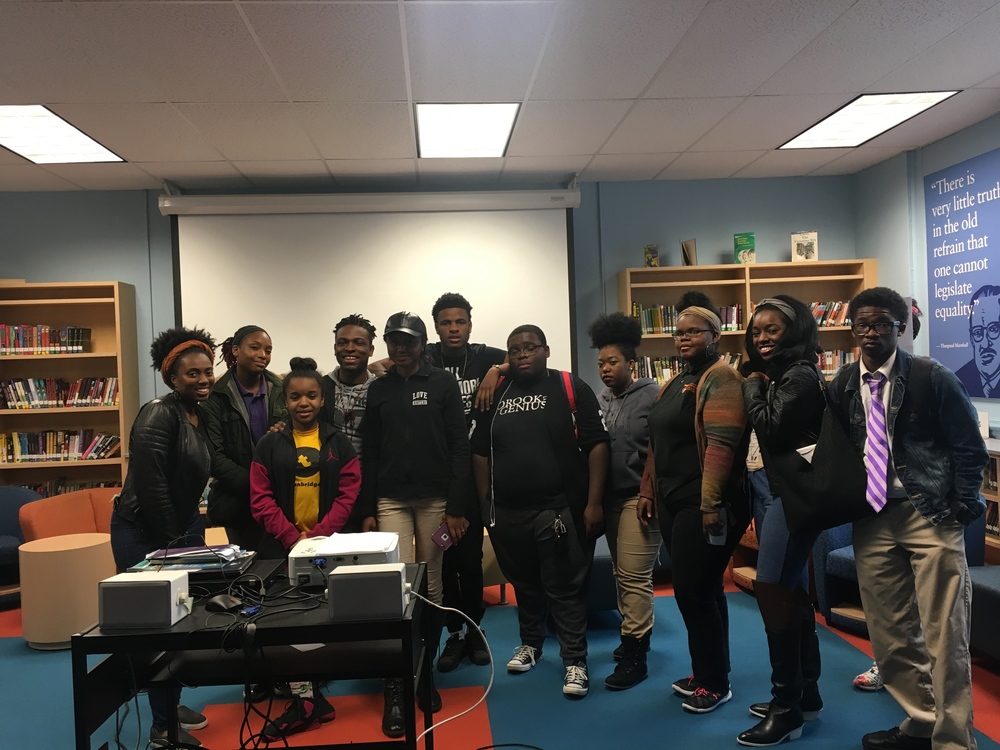 Co-Founder of ADA Moriah Ray and Director of Muse 360 Sharayna Christmas with some of the students from Muse 360 and ADA. A total of 14 students will be traveling to Cuba this summer!