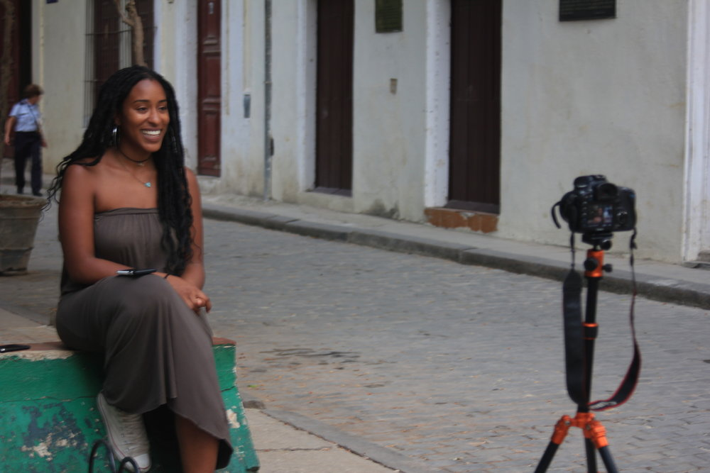 Co-Founder, Jasmine Hall, behind the Scenes of the documentary about our trip by Film for The People. Trailer Coming Soon!