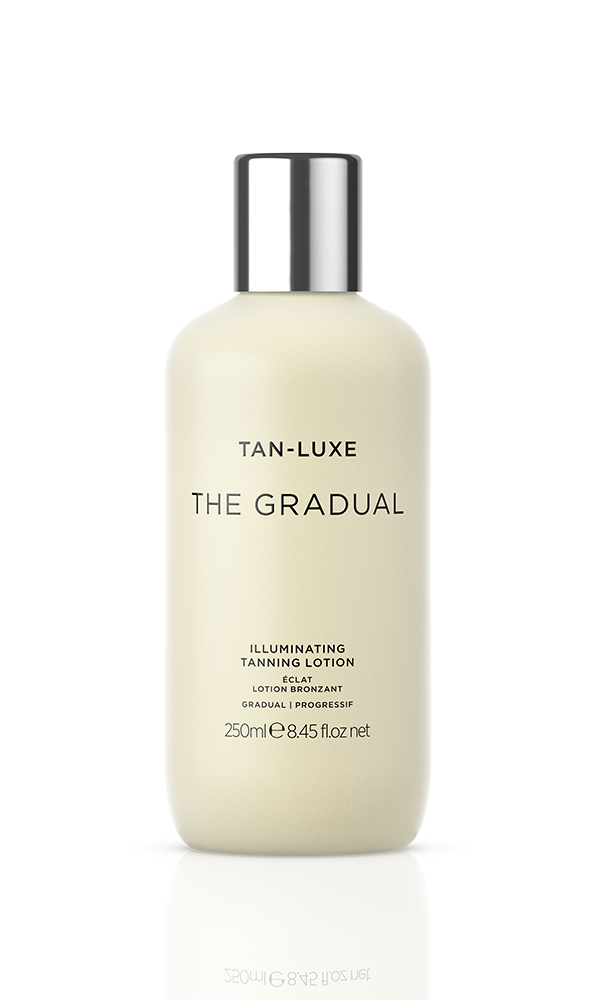 The Gradual - I love this brand for its self-tanners and The Gradual is my favorite because it's foolproof. It doesn't leave me with streaks or splotches and it doesn't smell like a flaming tire.