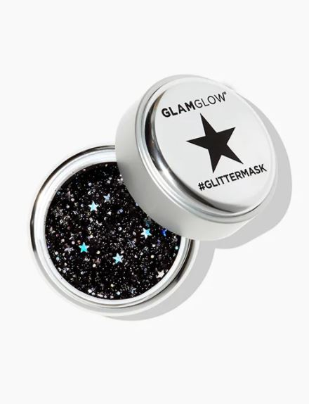 #GLITTERMASK GRAVITYMUD™ - Not ready to take your glitter out for a roll in the real world? Prep your skin with this cult classic mask. Licorice and marshmallow roots will cause your skin to feel like you've been reborn. Also, #glitter.