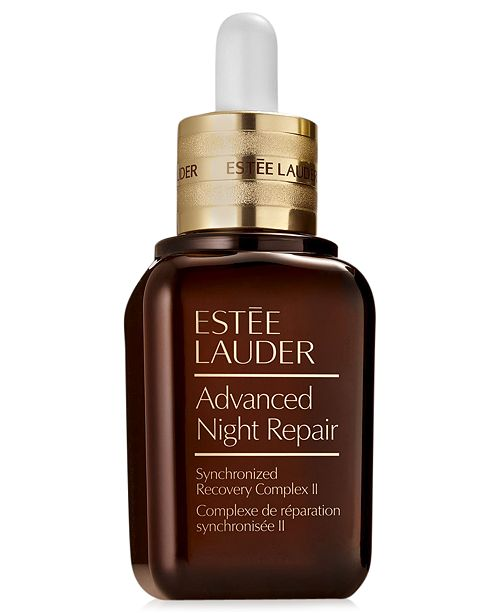 Advanced Night Repair Synchronized Recovery Complex II - by Estée Lauder is the classic serum. While around for decades the technology has become updated and evolved to keep up with the threats to our skin (hey, blue light pollution).Not only will this serum penetrate to heal the skin against sun damage, it will also fight pollution and the blue light from our screens and LEDs. Slather this serum on before you play Candy Crush in bed for 4 hours.