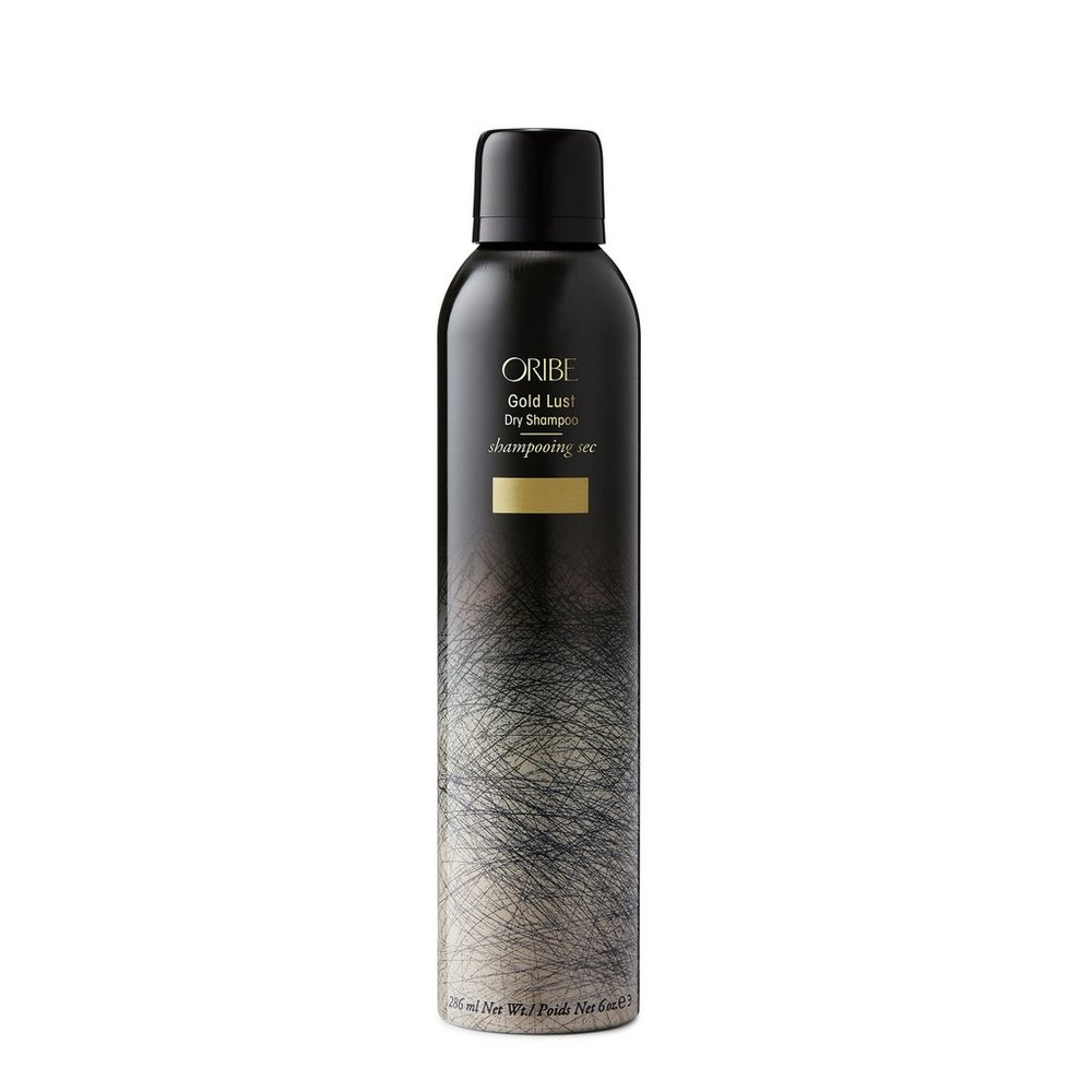 The Luxe Dame - The holy grail of hair has our most decadent shampoo. Oribe Gold Lust Dry Shampoo has the brand's signature blend of watermelon, lychee, edelweiss flower extracts to help protect strands from the environment.Starch blend and celery seed extract whip away any oils while lavender and chamomile sooth the scalp. Can we also just say… it smells amazing!