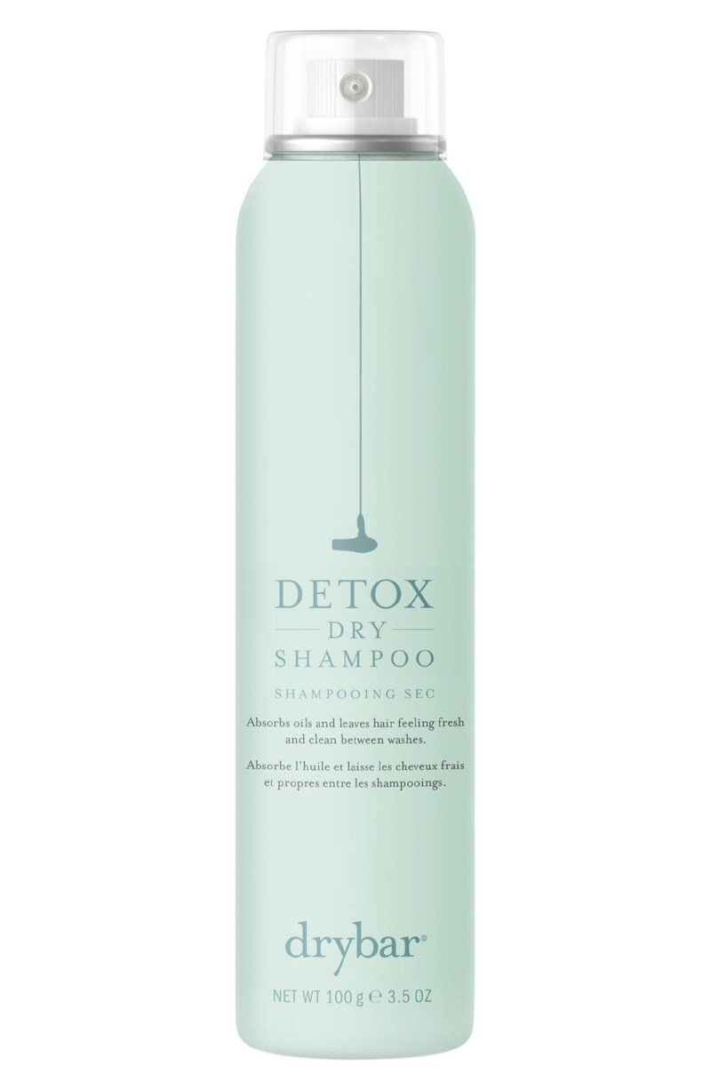 The Heavy Hitter - We all keep at least one can of Drybar's Detox Dry Shampoo in our desks for that refresh. Just like the brand's iconic blow out bars, this product refreshes hair and gives it a second life.The rejuvenating feeling comes the golden root extract, which helps stressed hair feel silky in addition to clean. This is our go-to for that happy hour refresh.