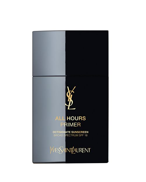 The Party Animal - For a luxe finish to the skin, we recommend All Hours Primer from Yves Saint Laurent. The low SPF in this primer will give you some UV protection with minimal flashback in photos.The formula of this primer will blur fine lines and pores to give you the perfect velvet skin base for your makeup. The best part is that it will control shine without clogging pores, making it derm-friendly. The one note we'll make is that this formula does contain alcohol so if you have a drier skin, you may want to dodge this bad boy.