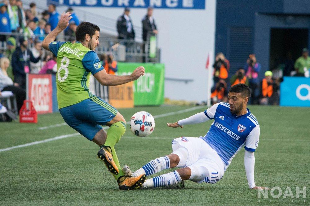 FC Dallas vs. Seattle Sounders: Match Photos - By: Noah Riffe
