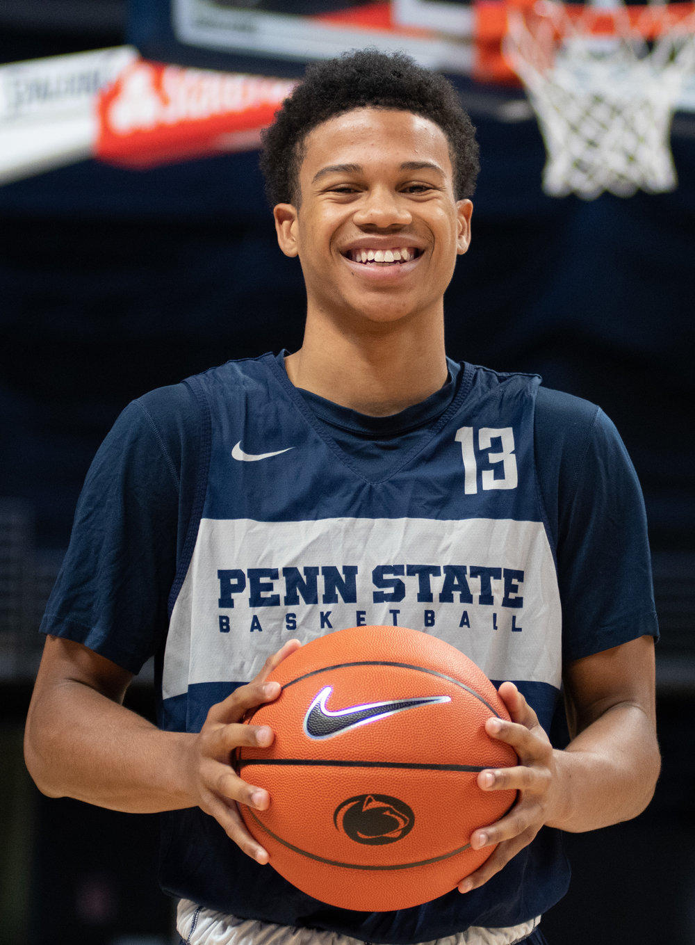 Penn State Basketball Media Day - Rasir Bolton