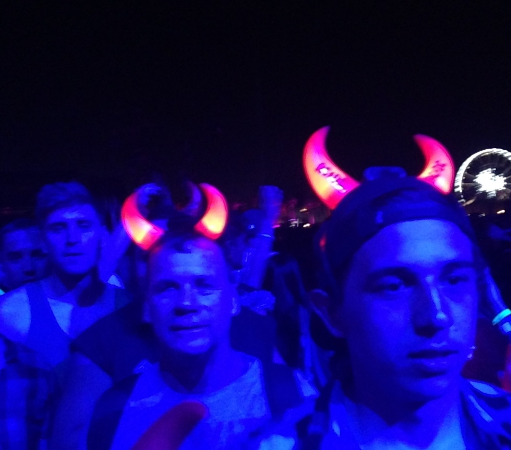AC/DC Minions March on Coachella