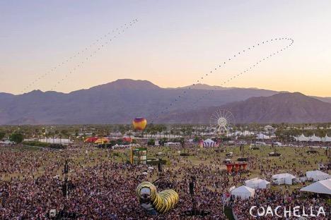 Coachella at dusk via coachella.com