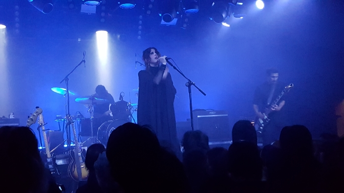 Chelsea Wolfe at the Teragram Ballroom, Los Angeles, June 8, 2016 - Photo by M.