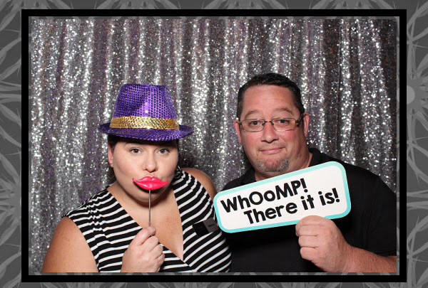 Goofy Couple in an Orlando Photo Booth