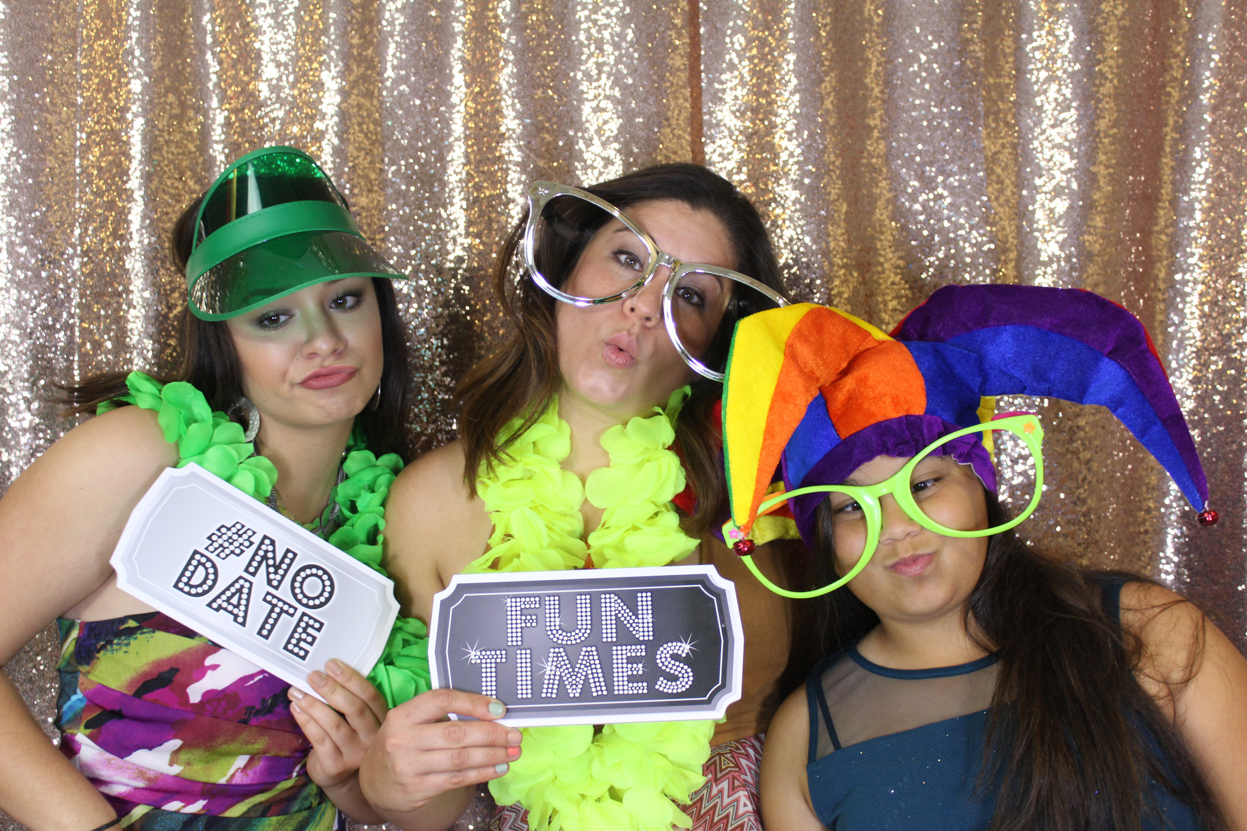 Friends Having Fun in our Photo Booth Rental Orlando