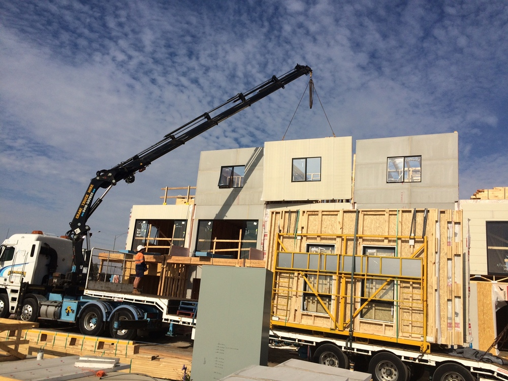 Craigieburn townhouse project