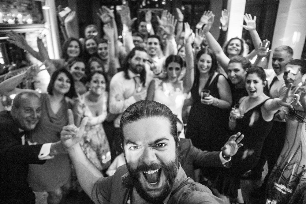 Selfie durant le mariage de Bianca & Ray, été 2017.