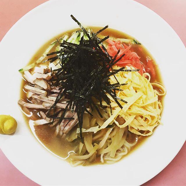 夏の風物詩、冷やし中華はじめま〼 スタッフがいつもお世話になっている中華料理屋「美華」さん。HanaLab.UNNOから歩いて5分程  #Nagano #ueda #Hanalab #lunch #hiyashichuka #暑い #sunnyday