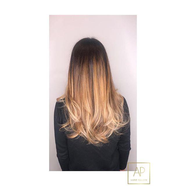 S O M B R E #apluxegirl #luxelife #apluxesalon #luxelife #hairbypaigecharbonnier