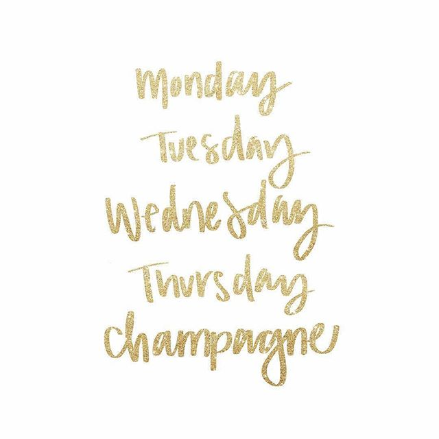 TGiC • weekend vibes coming in strong 🥂✨ #apluxegirl #luxelife #champagnecampaign