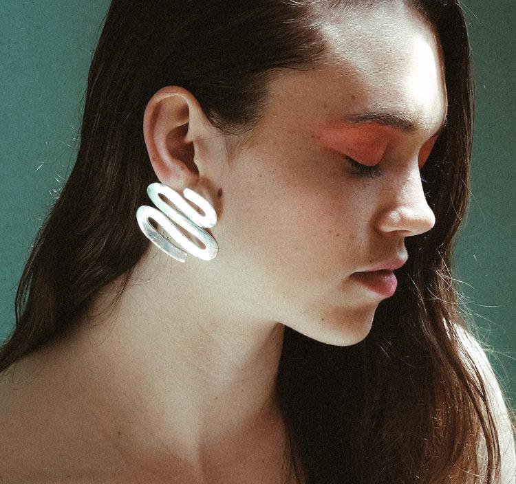 Luiny Smith earrings , handmade, $396