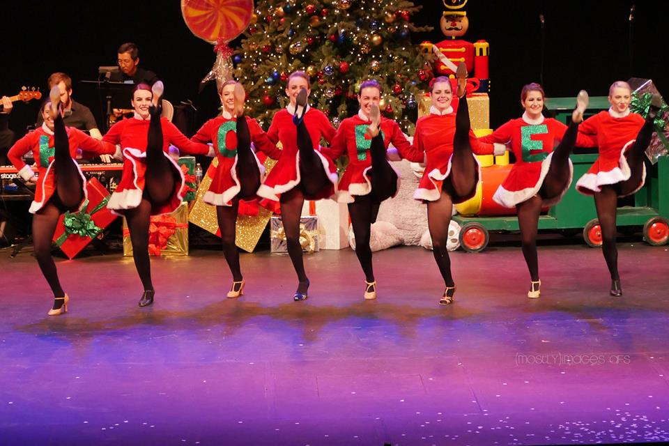 What's a Christmas show without the ROCKETTES?!