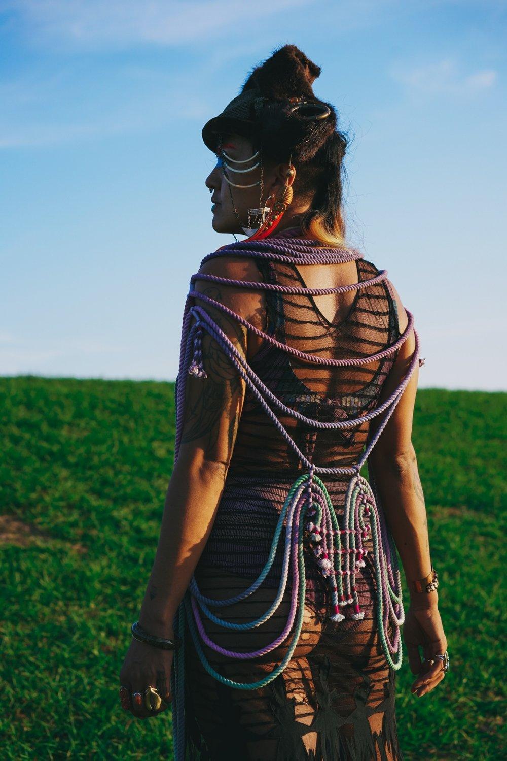 Photographer: Najva Sol   Models/artist:  Monica Canilao    Shot in New Orleans November 2017