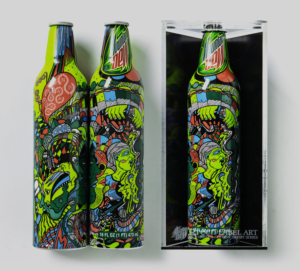 2008 / Mountain Dew - Green Label Art