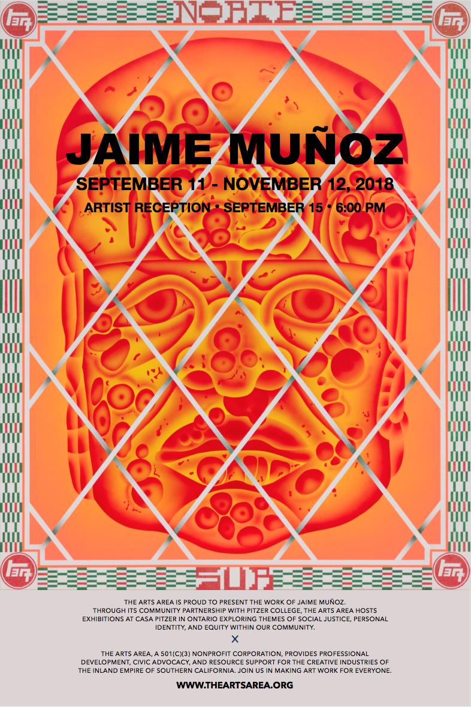 JAIME MUÑOZ : September 11 - November 12, 2018