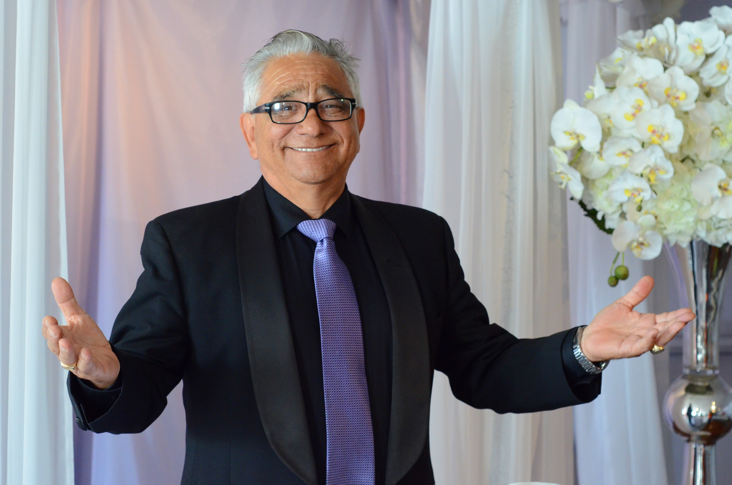 Fernando Howard has been officiating weddings at the Chapel for about 8 years.