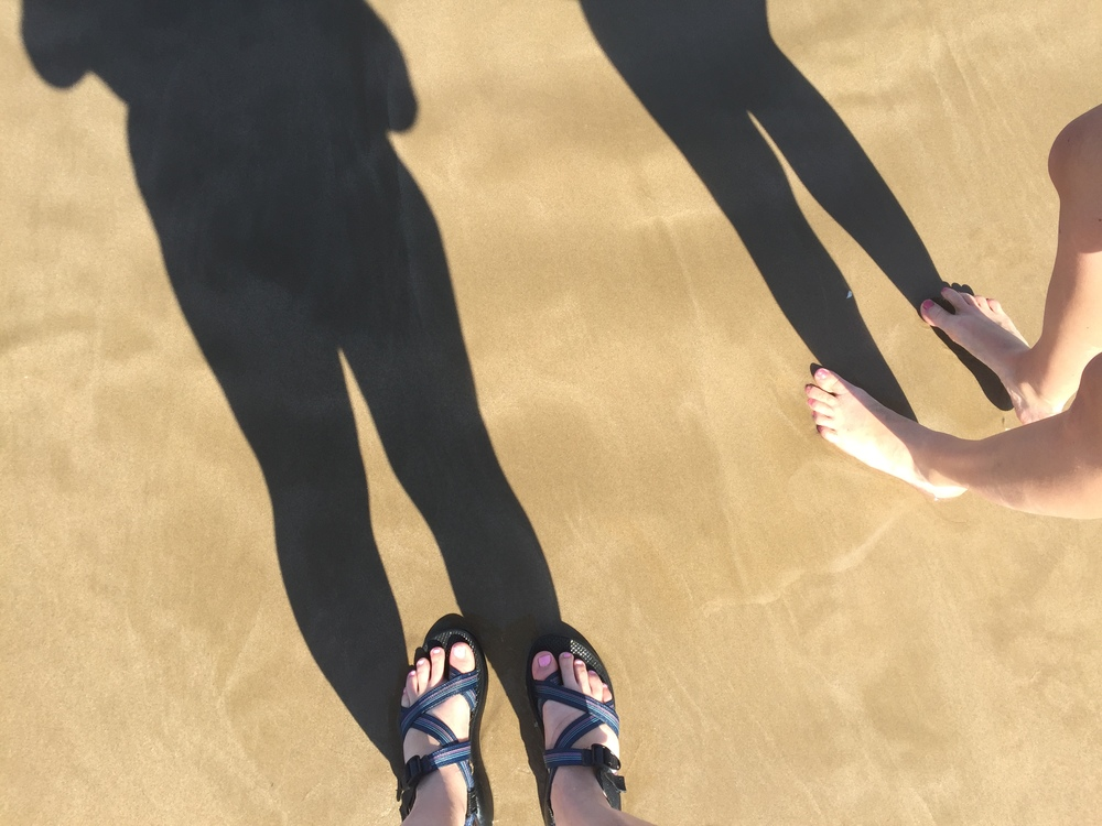 Soft Mediterranean sand.