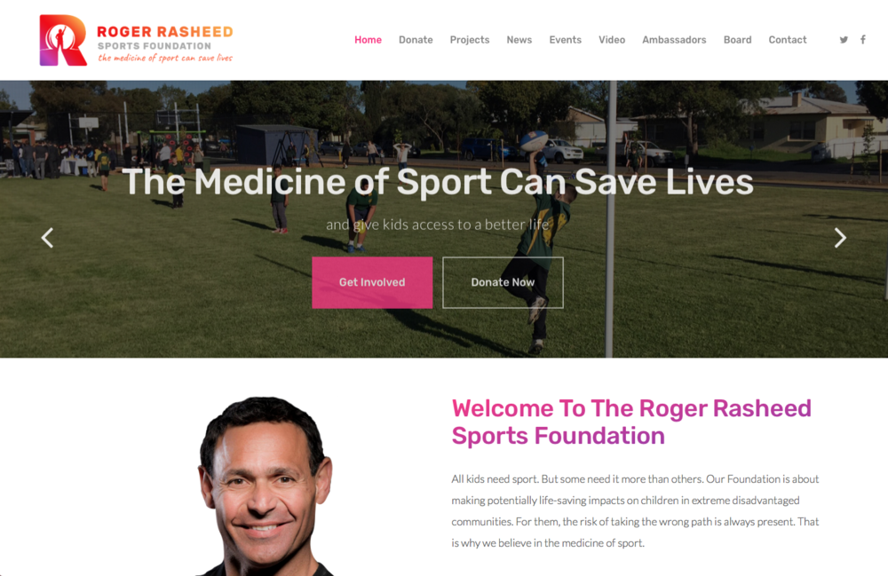 Roger Rasheed Sports Foundation