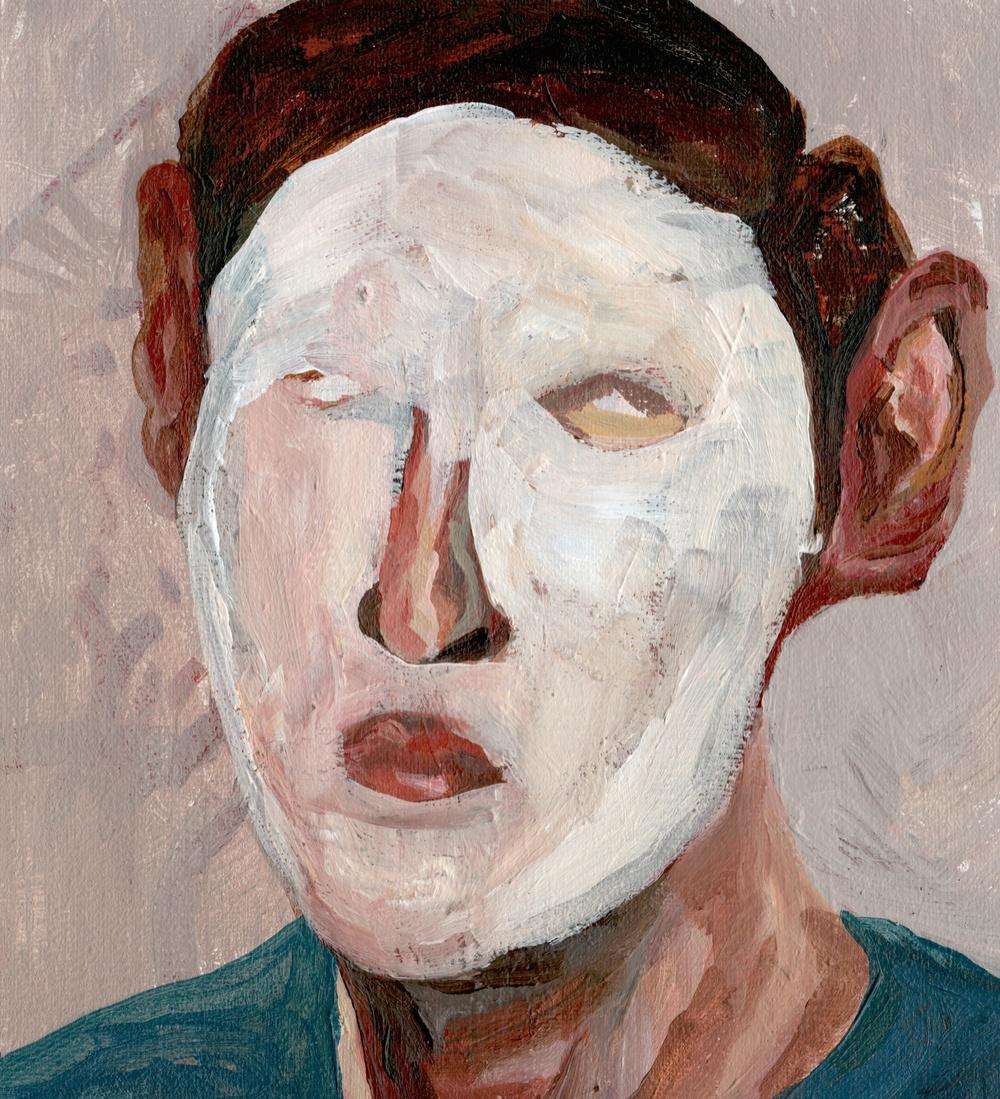 Acrylic on canvas 201