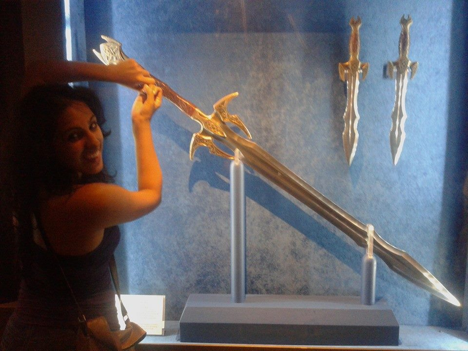 Exhibit B: Only Geeks think cool swords, are cool.