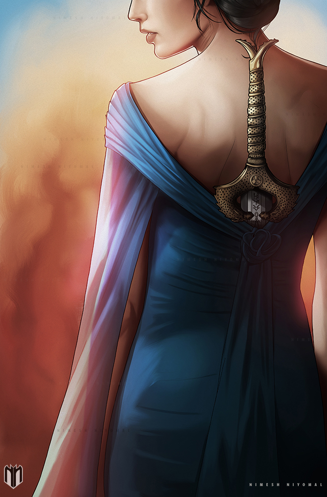 Diana , by Nimesh Niyomal