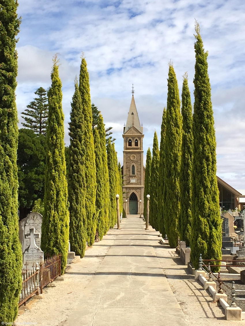 Langmeil Lutheran church, Tanunda