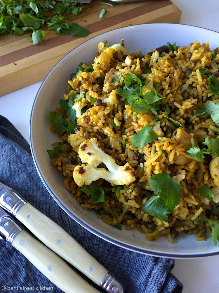 Cauliflower and Lentil Rice by Bent Street Kitchen