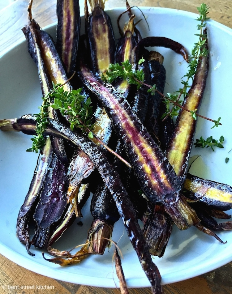 Roasted Dutch Carrots by Bent Street Kitchen