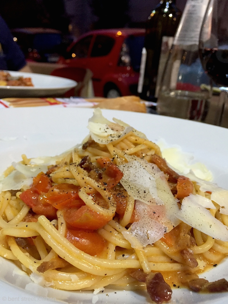 Rome is famous for their amatriciana