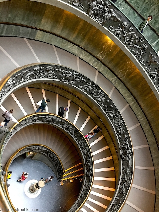 Bramante staircase at the Vatican museum