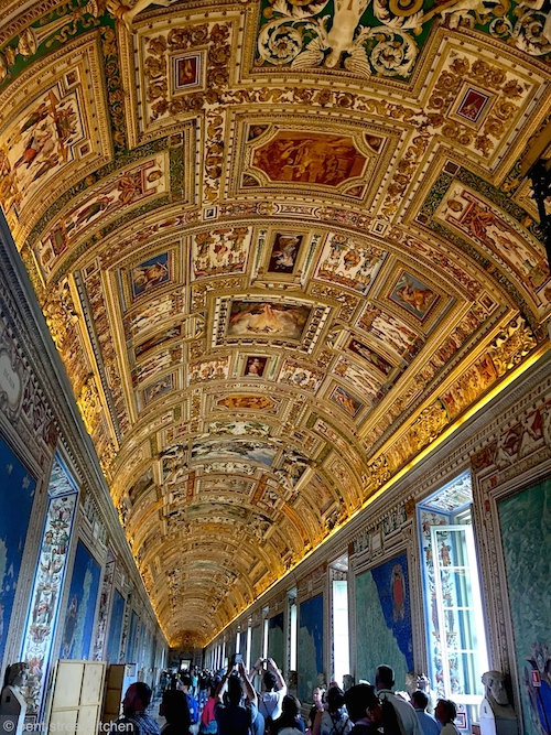 Vatican museum. The life of Jesus and the opulence of the Vatican don't add up.