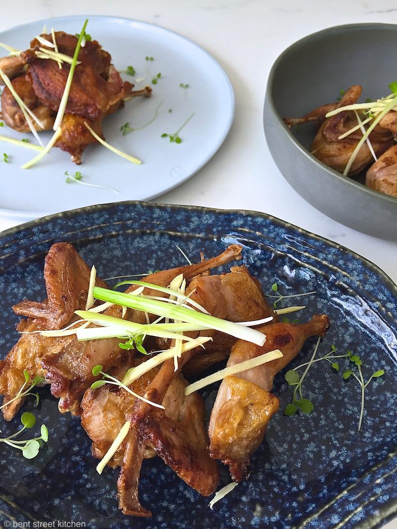 Tetsuya's five spice quail