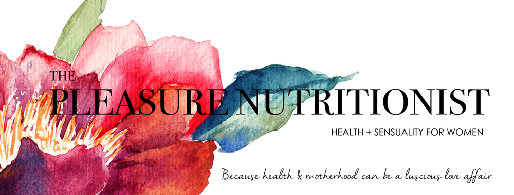 Julie is The Pleasure Nutritionist - bringing pleasure back into our health, mothering and lives.  Author, Birth Coach, Health Professional, Mothering Mentor.
