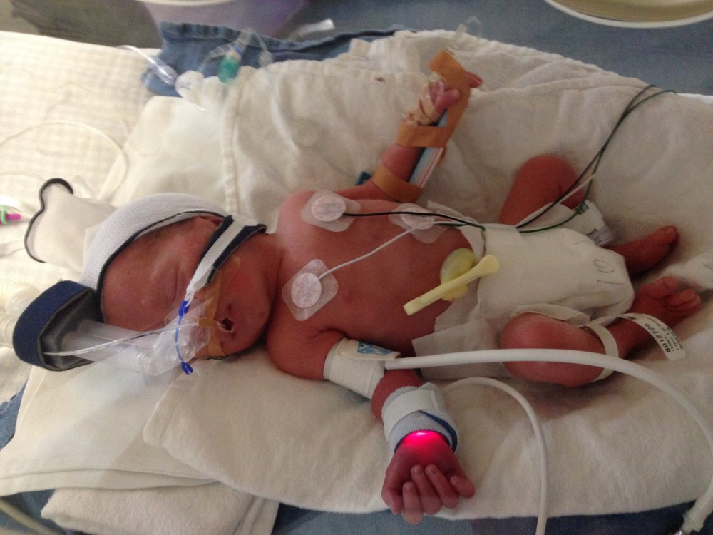Sophie just born