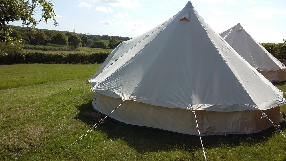 Blean Bees Bell Tent Glamping   Book our eco glamping experience    Find out more