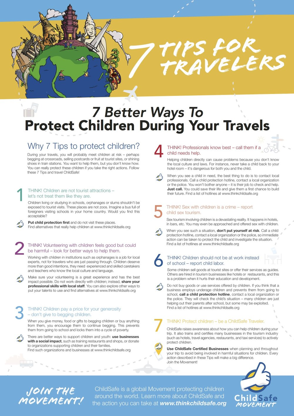 Child Safe Traveler Tips